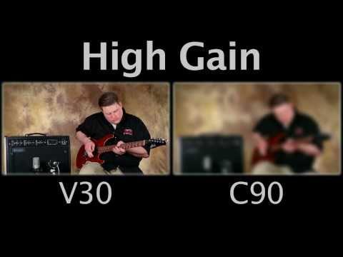 Mesa Boogie Mark V Speaker Comparison C90 vs Celestion Vintage 30