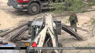 Cheb: Překlenovací úvěr na revitalizaci levého břehu (TV Západ)