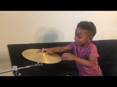 Drum Lessons with a 3yr Old