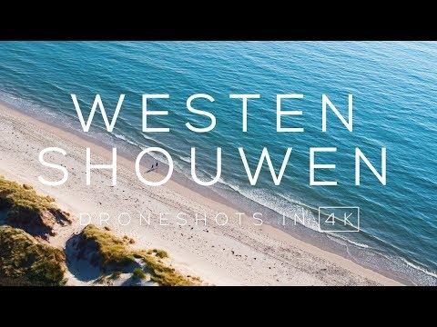 Strand van Westenshouwen / Nieuw Haamstede (Zeeland) in 4K | Drone video