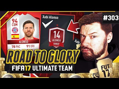 XABI ALONSO 94 RATED SBC! - #FIFA17 Road to Glory! #303 Ultimate Team