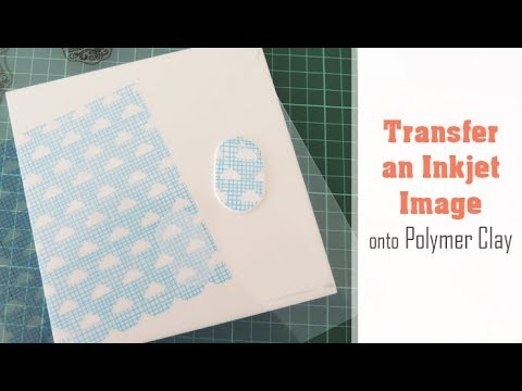 How To Transfer An Inkjet Image Onto Polymer Clay Easy