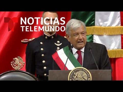 EN VIVO: Toma de posesión de Andrés Manuel López Obrador como presidente de México