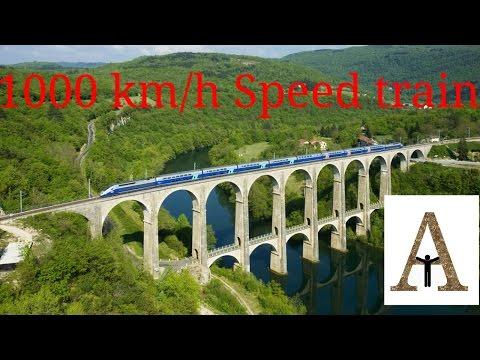 1000 km speed train. World's fastest train
