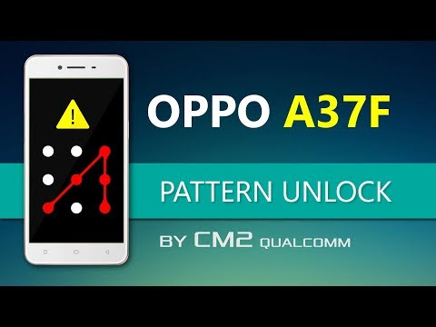 Oppo A37F Pattern Unlocked by CM2 Qualcomm (Without Data loss) | In  Urdu/Hindi