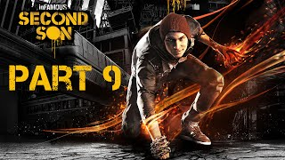 inFamous: Second Son 'Good Karma' 100% Walkthrough Part 9 | PS4 (1080p 60 FPS)