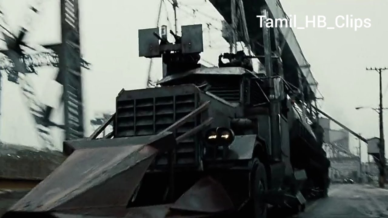 Death Race Movie The Dreadnought Battle Scene In Tamil