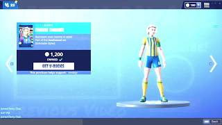 How to get the SOCCER SKIN FREE in Fortnite
