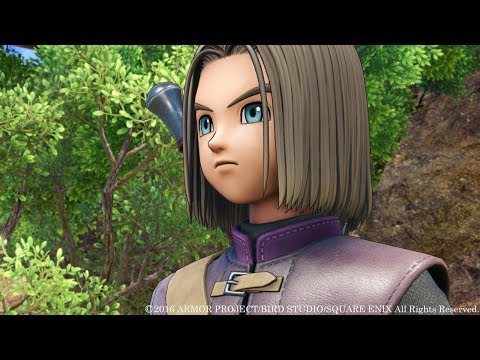 Dragon Quest XI -- New PS4 Gameplay