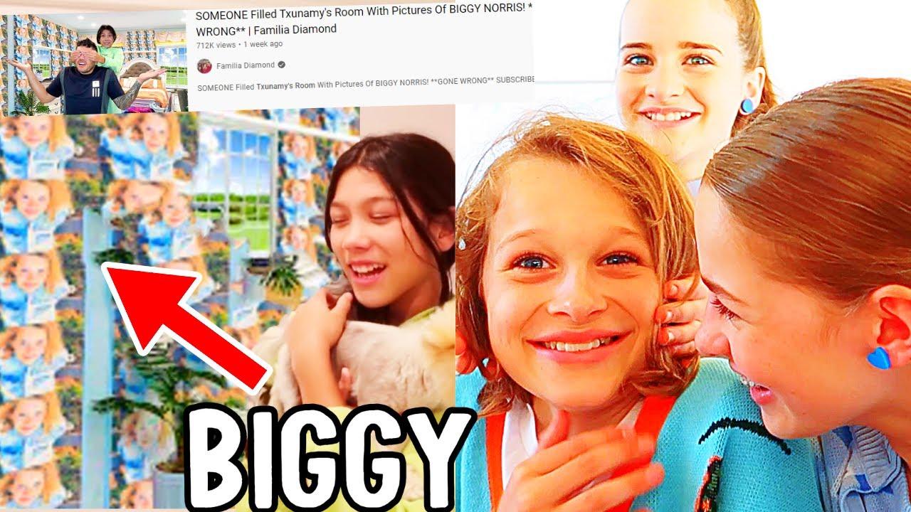 Download BIGGY REACTS TO BIGGY'S PICTURES IN TXUNAMY'S BEDROOM w/Familia Diamond