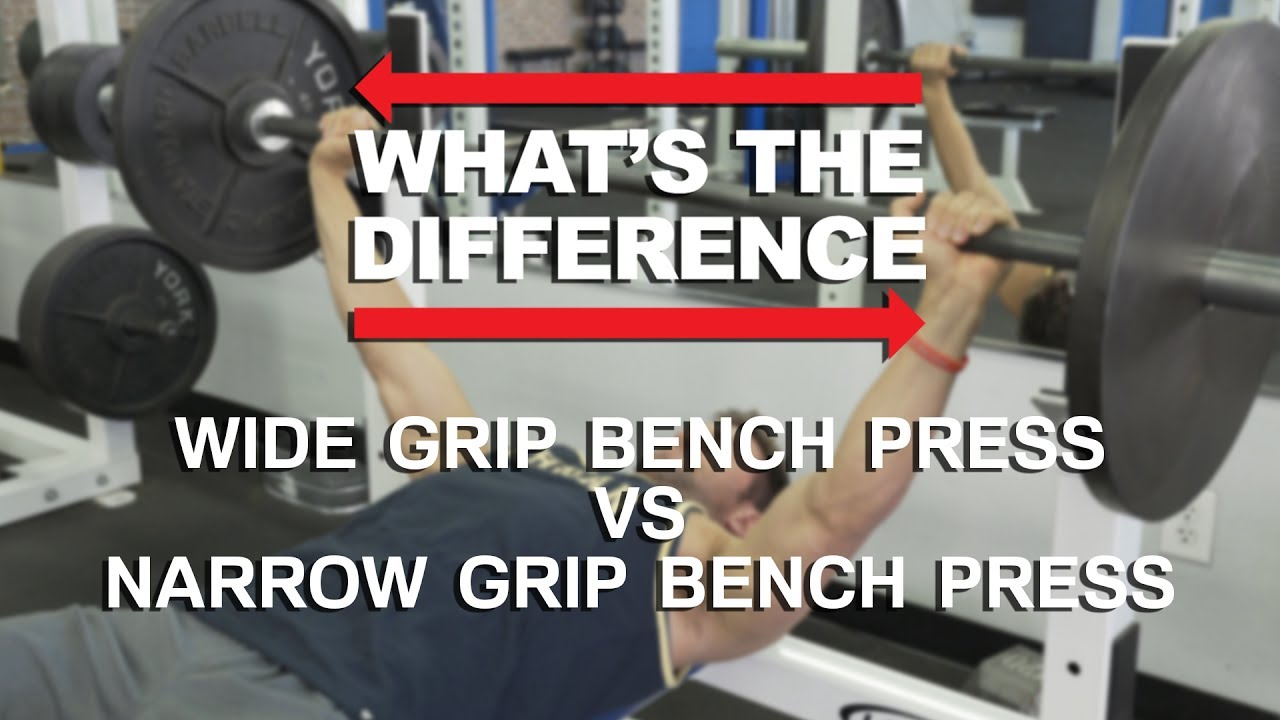 Narrow Grip Bench Presses Part - 43: Wide Grip Bench Press Vs Close Grip Bench Press - Whatu0027s The Difference?