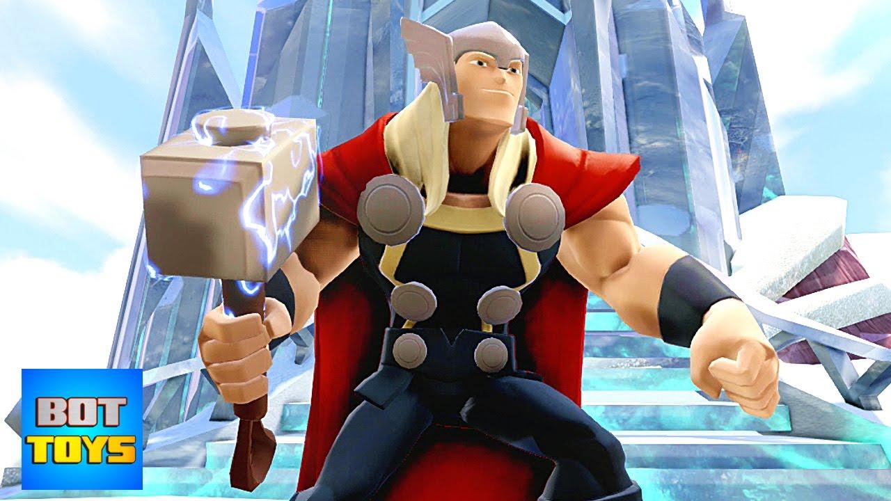 Thor 1 Dibujos Animados De Los Vengadores En Español
