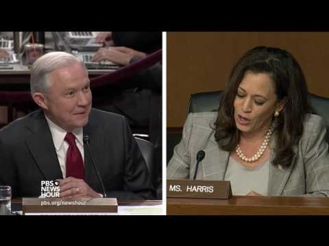 Sen. Harris asks Sessions for the legal reasoning behind his refusal to answer questions