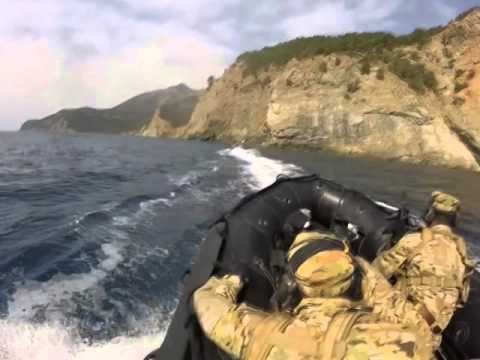 Turkish Naval Forces in action