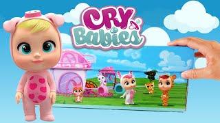 Cry Babies Magic Tears Bottle House Series Dolls