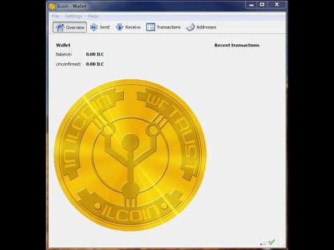 Launching the ILCoin wallet - March 04, 2015