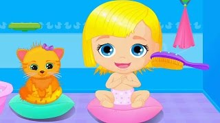 Fun Baby Doll House - Take Care Of Little Baby & Pet Care Games