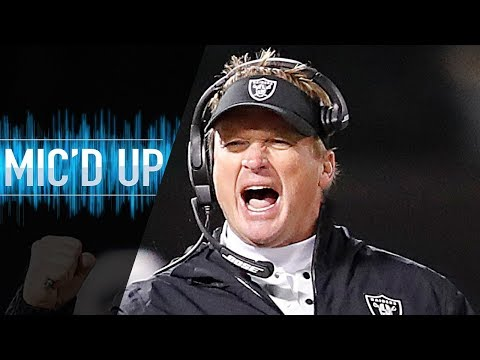 "Jon Gruden Mic'd Up vs. Broncos ""We have one opportunity left, it's against the team we hate"""