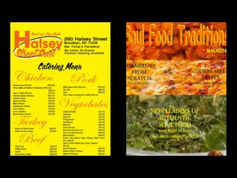 Bed Stuy Brooklyn Soul Food Catering Services Halsey Street Grill