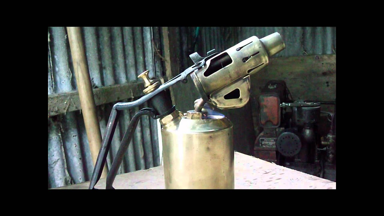 How To Start A Paraffin Blow Lamp