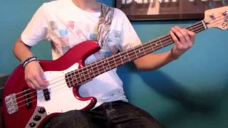 The Cure - The Lovecats (Bass Cover HD)