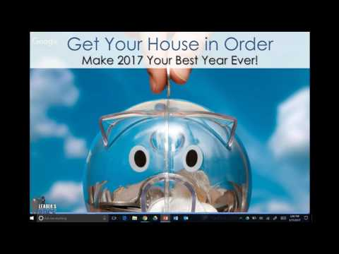 Sales Success - Get your house in order featuring Chris Leader - Jan 17, 2017