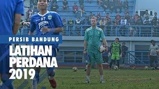 LATIHAN PERSIB - Latihan Perdana Persib 2019