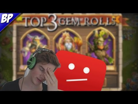 Reacting To My Old Video Top 3 Rolls In Castle Clash!