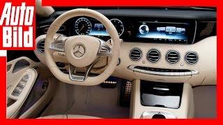 Mercedes-Maybach Cabrio Interieur (2016) - Sitzprobe/ Review/ Preview