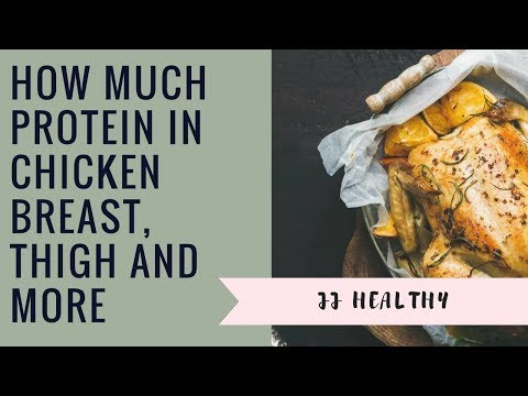 How Much Protein in Chicken Breast, Thigh and More