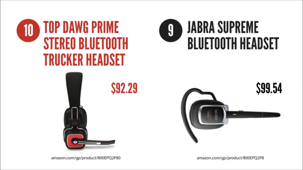Top 10 Best Bluetooth Headsets For Truck Drivers Youtube