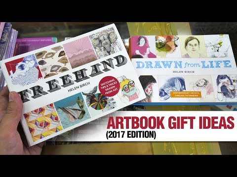 Artbook Gift Ideas for Your Artist Friends This Holiday (2017 edition)