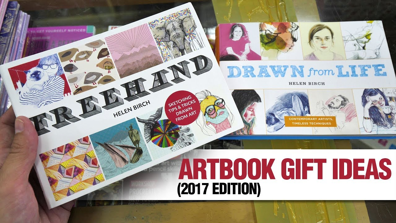 Artbook Gift Ideas For Your Artist Friends This Holiday 2017 Edition