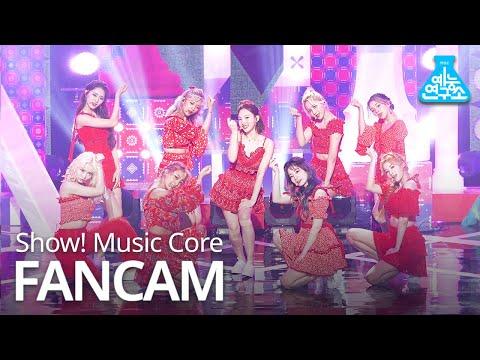 [예능연구소 4K] 트와이스 직캠 'MORE & MORE' (TWICE FanCam) @Show!MusicCore 200613