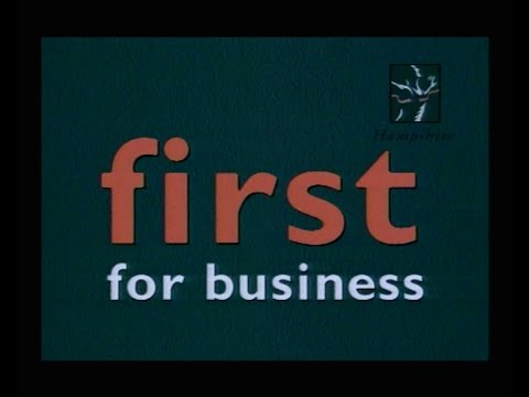 Hampshire County Council First For Business Promo
