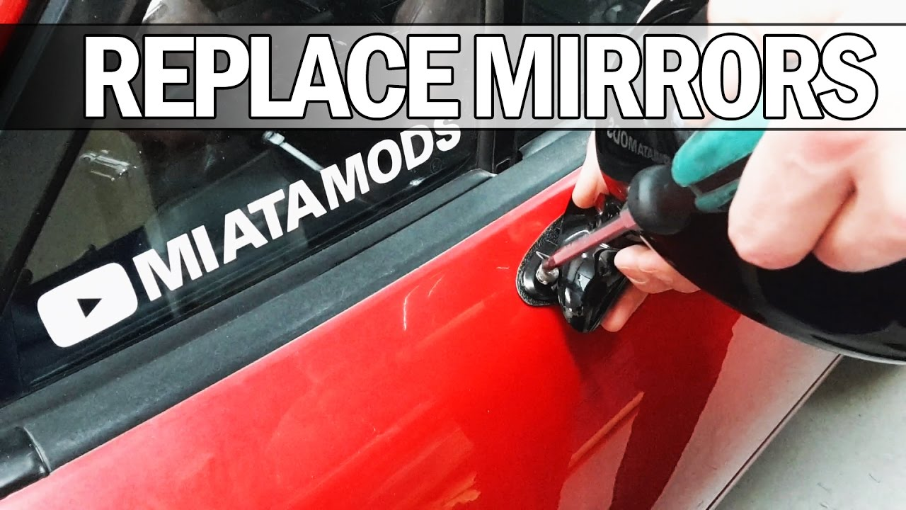 Mx5 Na Miata How To Replace Your Side Mirrors Youtube 1992 Fuse Box