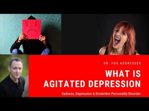 Sadness And Anger: Agitated Depression And Borderline Personality Disorder