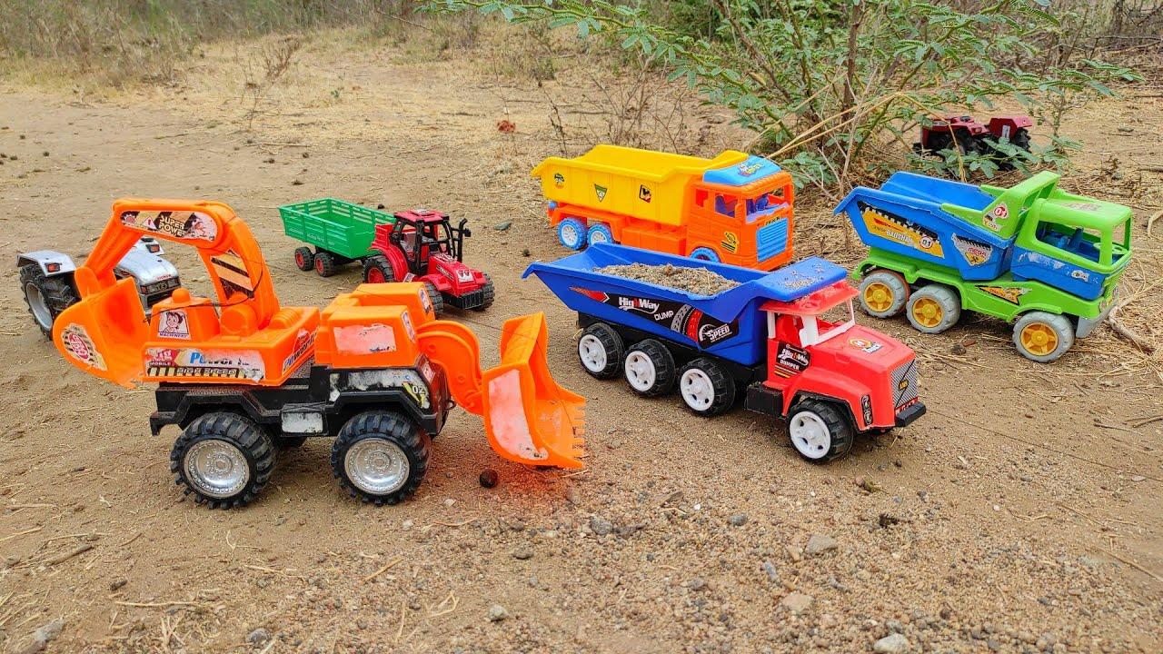 JCB machine excavator machine    All company Kids Tractor Videos   Toys Tractor Videos   kids video