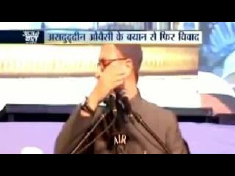 Asaduddin Owaisi on India Tv Programme Aaj ki Baat Rajat Sharma ke Sath.