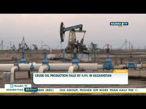 Crude oil production falls by 4.4% in Kazakhstan - Kazakh TV
