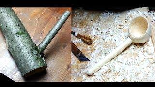 как сделать деревянный ковш для бани своими руками