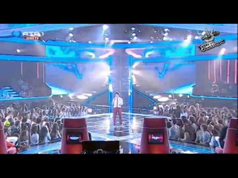 "Luís Sequeira - ""Resistance"" Muse - Gala 1 - The Voice Portugal - S2"