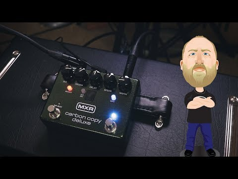 MXR Carbon Copy Deluxe - Demo
