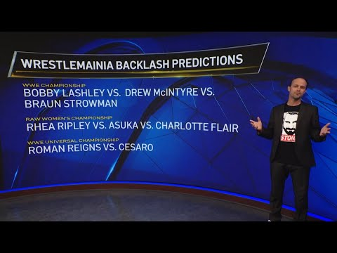 WWE WRESTLEMANIA Backlash Predictions