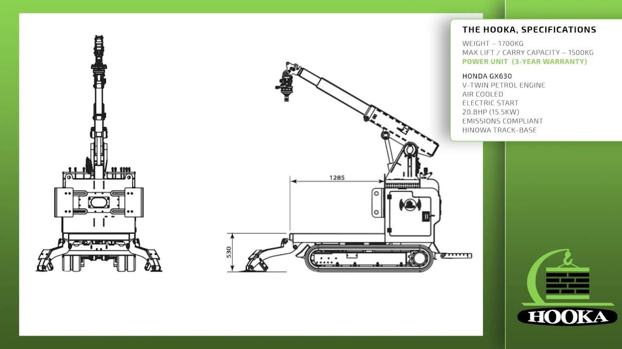 unique pick lift carry mini tracked crawler crane for all bulk materials [ 1280 x 720 Pixel ]