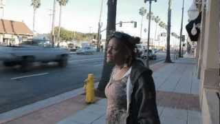 CRAZY Lady Spits On Photographer!!! (Oceanside CA)