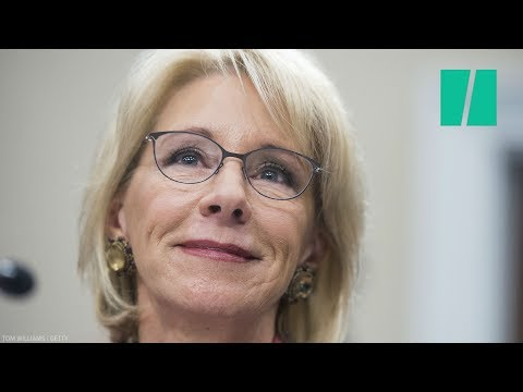 Betsy DeVos Grilled For Siding With Loan Servicers