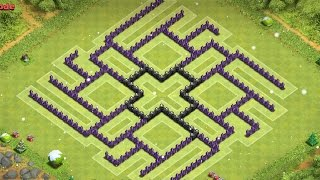 Clash Of Clans Th9 Farming Base Insanity V2