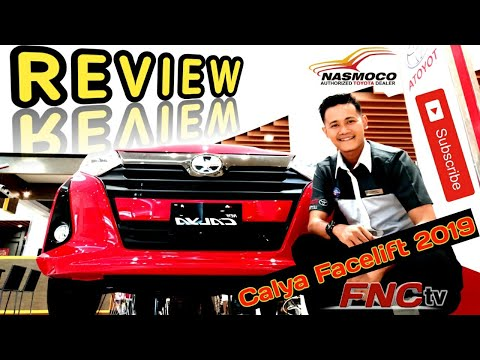 Fadil Nasmoco - Review Toyota Calya Facelift 2019