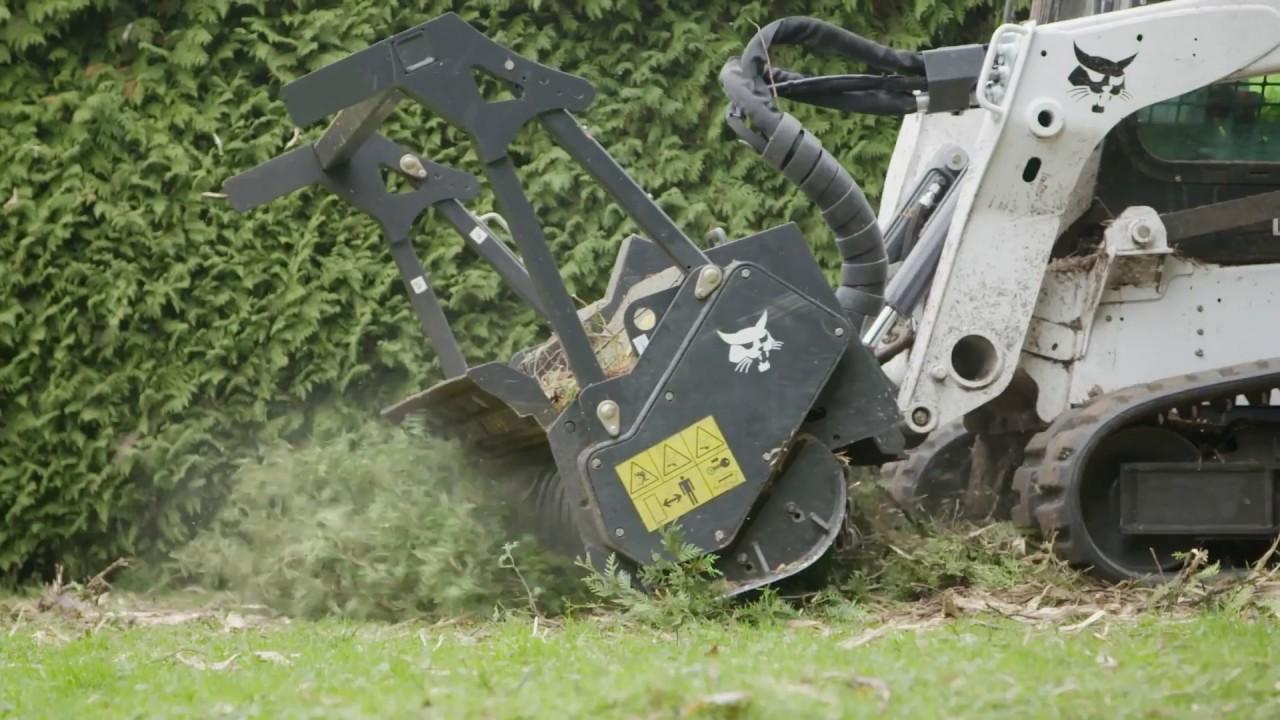 Bobcat T770 Forestry Cutter